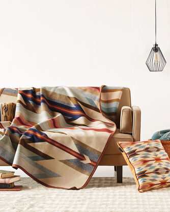 ADDITIONAL VIEW OF WYETH TRAIL BLANKET IN BEIGE