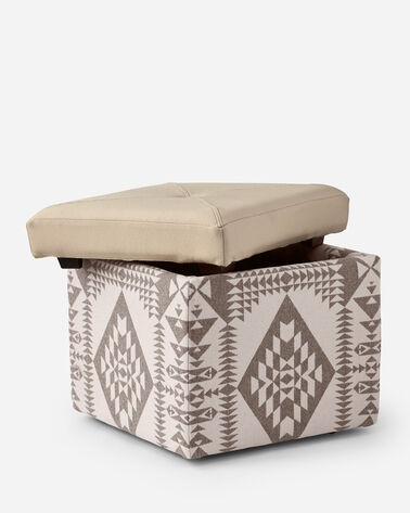 ADDITIONAL VIEW OF FANNIE KAY STORAGE OTTOMAN IN BASKETMAKER/DOE