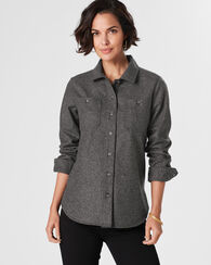 ESSENTIAL SHIRT JAC, OXFORD MIX, large