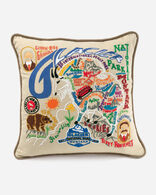 GLACIER PARK PILLOW IN MULTI