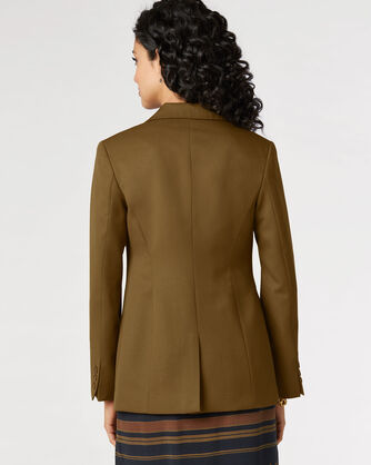 SEASONLESS WOOL BLAZER, BRONZE, large