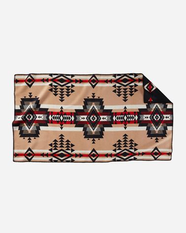 ALTERNATE VIEW OF ROCK POINT SADDLE BLANKET IN BLACK