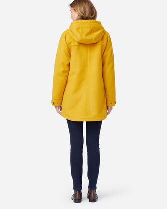ALTERNATE VIEW OF WOMEN'S WEST HAVEN INSULATED COAT IN GOLDENROD