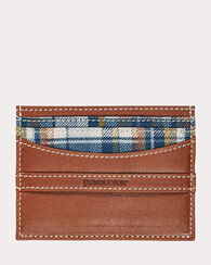 MODERN WALLET, HUDSON PLAID, large