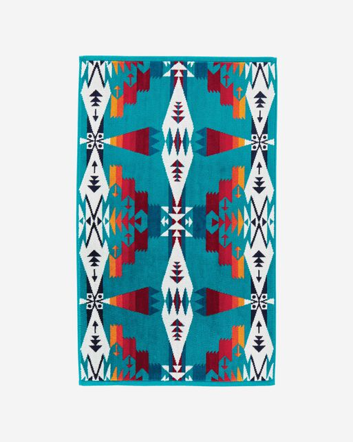 TUCSON HAND TOWEL IN TURQUOISE