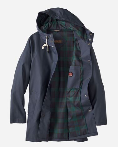 ADDITIONAL VIEW OF MEN'S PACIFIC RAINCOAT IN NAVY