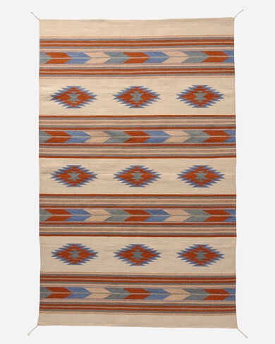 DIAMONDS AND ARROWS RUG IN SAND