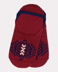 TOLOVANA MOC SOCKS, RED, large
