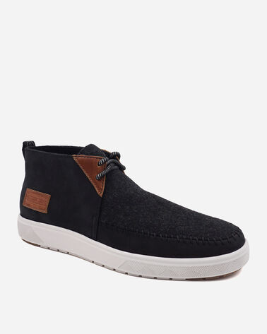 ALTERNATE VIEW OF MEN'S LA BREA MID SNEAKERS IN BLACK