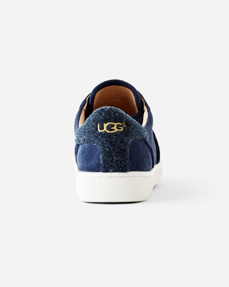 ADDITIONAL VIEW OF MILO SUEDE SNEAKERS IN NAVY