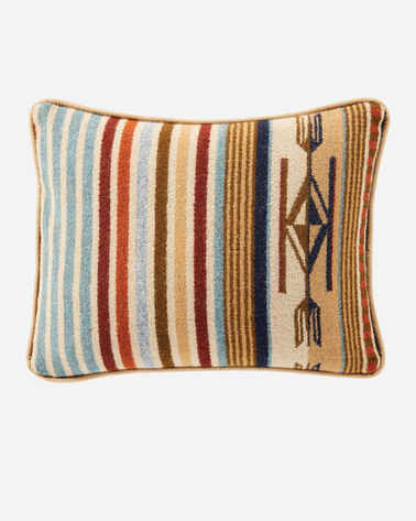 CHIMAYO TOSS PILLOW IN HARVEST TAN STRIPE