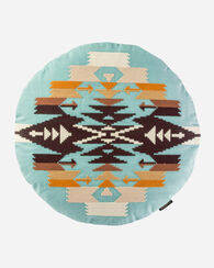 TUCSON ROUND CROSS STITCH PILLOW
