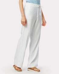 AIMEE CHAMBRAY PANTS, WHITE, large