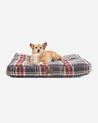 BRESLIN PLAID DOG BED IN SIZE LARGE