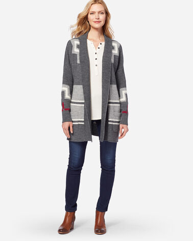 SAN MIGUEL CARDIGAN, GREY, large