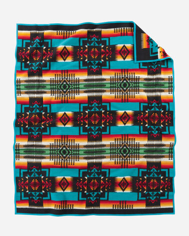 ADDITIONAL VIEW OF CHIEF JOSEPH BLANKET IN BLACK