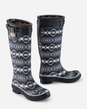 PAPAGO PARK HERITAGE TALL BOOTS IN BLACK
