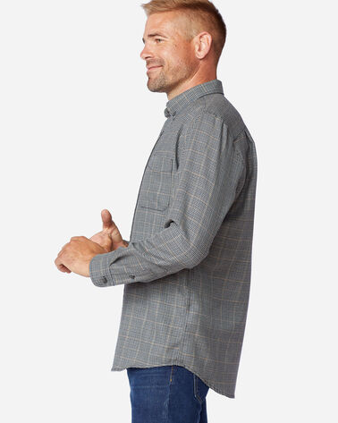 ALTERNATE VIEW OF AIRLOOM MERINO SIR PENDLETON SHIRT IN GREY MIX MULTI CHECK