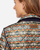 ALTERNATE VIEW OF WOMEN'S MEADOW REVERSIBLE QUILTED JACKET IN TUCSON/NAVY