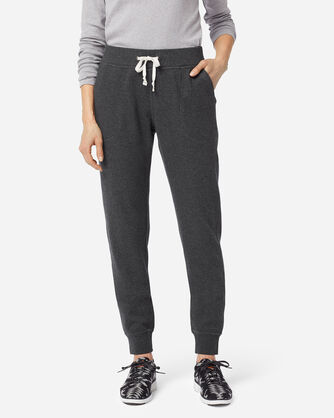 ADDITIONAL VIEW OF WOMEN'S JOGGER SWEATPANTS IN CHARCOAL HEATHER