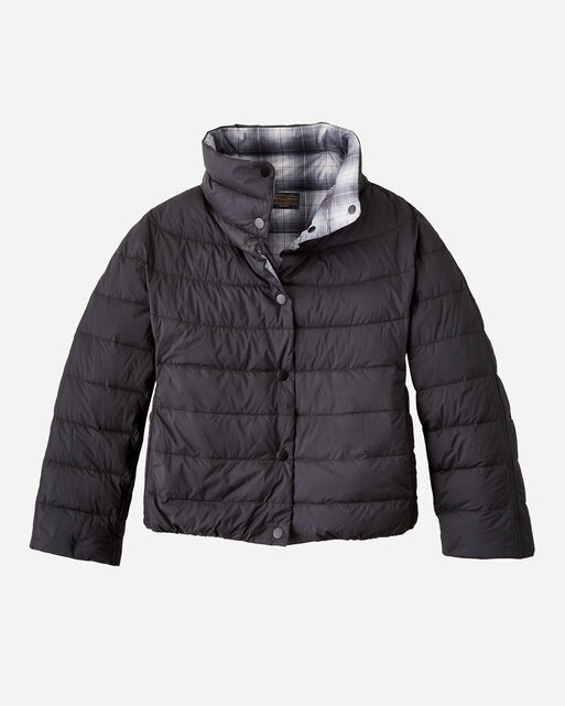 WOMEN'S REVERSIBLE QUILTED PUFFER JACKET