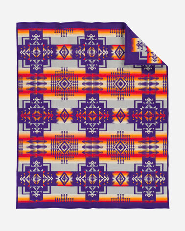 ADDITIONAL VIEW OF CHIEF JOSEPH BLANKET IN PURPLE