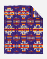 CHIEF JOSEPH BLANKET IN PURPLE