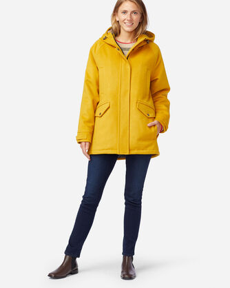 WOMEN'S WEST HAVEN INSULATED COAT IN GOLDENROD
