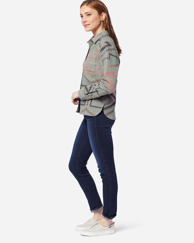 WOMEN'S JACQUARD LODGE SHIRT
