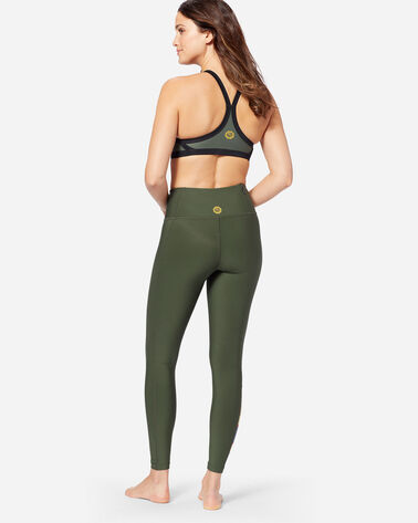 HURLEY X PENDLETON QUICK DRY LEGGINGS, GREEN BADLANDS, large