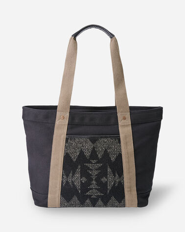 ALTERNATE VIEW OF SONORA TOTE IN BLACK