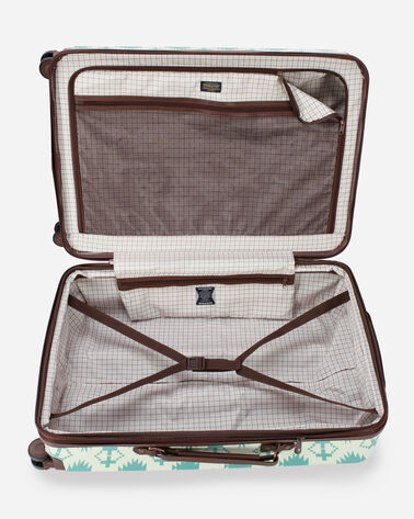 "ALTERNATE VIEW OF HARDING 28""  SPINNER LUGGAGE IN AQUA"