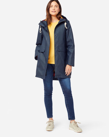 WOMEN'S PELICAN POINT WATERPROOF JACKET IN NAVY