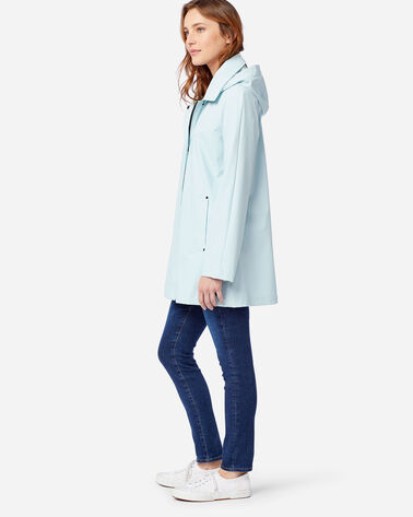 ALTERNATE VIEW OF WOMEN'S SONOMA WATERPROOF RAIN JACKET IN ICE BLUE