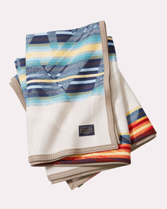 TOMMY BAHAMA & PENDLETON THROW, TAN, large