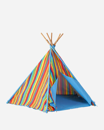 CANVAS TEPEE TENT IN RAINBOW