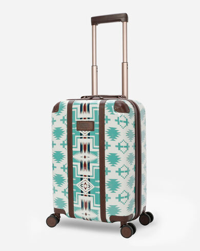 "HARDING 20""  SPINNER LUGGAGE IN AQUA"