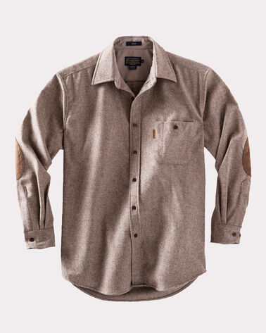LONG-SLEEVE FITTED TRAIL SHIRT, TAUPE YAKIMA MIX, large