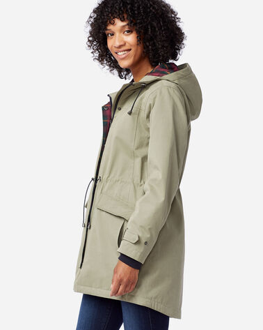 ALTERNATE VIEW OF WOMEN'S ELLIOTT BAY HOODED COAT IN OREGANO
