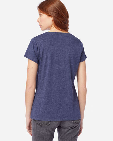 ALTERNATE VIEW OF WOMEN'S PENDLETON LOGO GRAPHIC TEE IN NAVY HEATHER