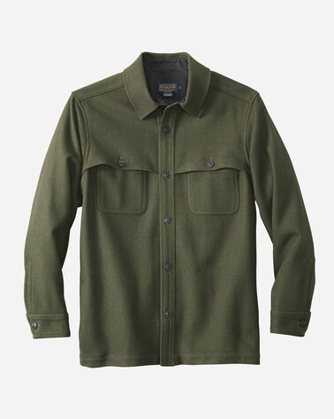 THOMAS KAY OVERSHIRT, OLIVE, large