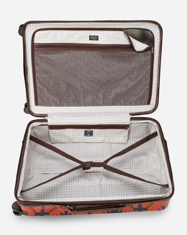 "ALTERNATE VIEW OF SPIDER ROCK 28"" SPINNER LUGGAGE IN RUST/NAVY"