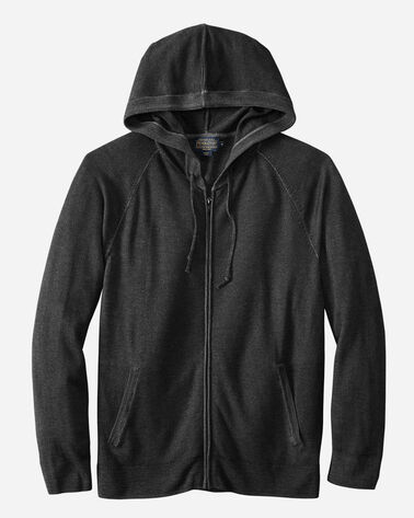 MERINO MAGIC-WASH ZIP HOODIE, CHARCOAL, large