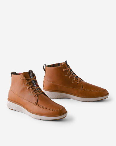MEN'S NUEVO POINT SNEAKER BOOTS IN CARAMEL CAFE