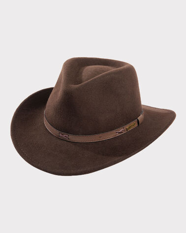 INDY HAT, BEAVER BROWN, large
