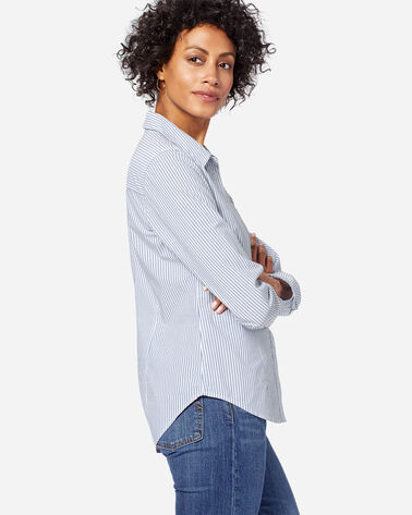 WOMEN'S AUDREY FITTED STRIPE SHIRT