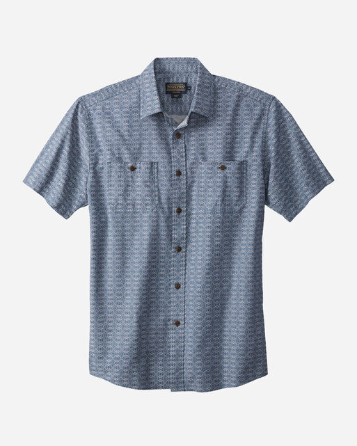 SHORT-SLEEVE CHAMBRAY SHIRT, , large