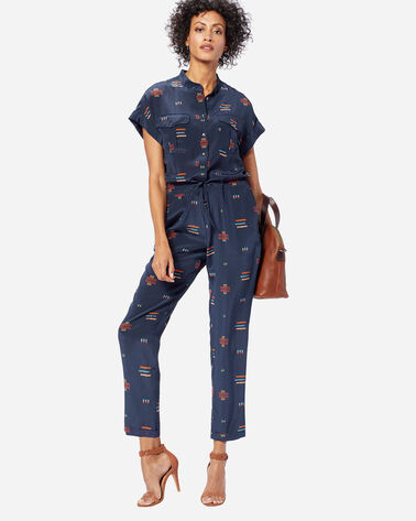 CHIEF JOSEPH SILK JUMPSUIT, INDIGO, large