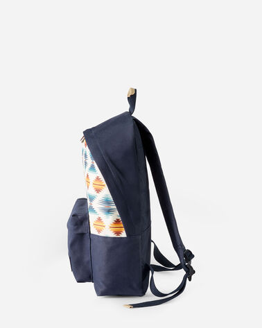 ALTERNATE VIEW OF FALCON COVE CANOPY CANVAS BACKPACK IN OLIVE GREEN