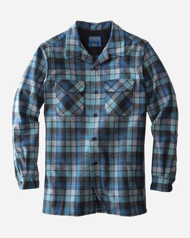 MEN'S BOARD SHIRT in BLUE ORIGINAL SURF PLAI